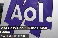 Aol Gets Back in the Email Game
