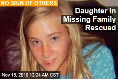 Daughter in Missing Family Rescued
