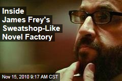 Inside James Frey's Sweatshop-Like Novel Factory
