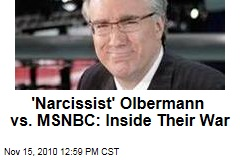 'Narcissist' Olbermann vs. MSNBC: Inside Their War