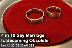 Marriage Becoming Obsolete, and 'Family' Definition Evolving to Include Cohabitation, New Study Shows
