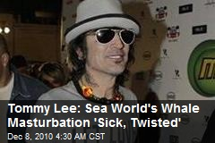 Tommy Lee: Sea World's Whale Masturbation 'Sick, Twisted'