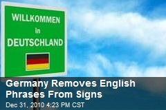 German Transportation Official Bans English