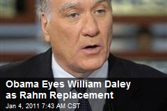 Clinton Commerce Sec Daley May Replace Rahm