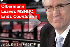 Olbermann Leaves MSNBC, Ends Countdown