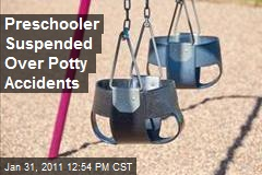 Preschooler Suspended Over Potty Accidents