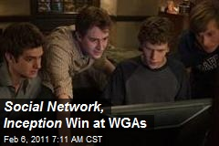 Social Network Inception Win at WGAs