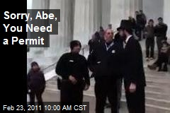 Sorry, Abe, You Need a Permit