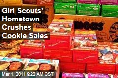 Savannah Crushes Girl Scouts Cookie Sales ... Outside Founder Juliette Gordon Low's House