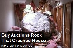 NZ Guy Auctions Rock That Crushed House