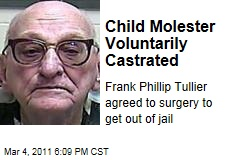 Frank Phillip Tullier Castrated Voluntarily to Get out of Jail | Louisiana