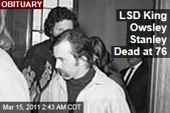 Owsley Stanley, LSD Cook to '60s Stars, Dead at 77
