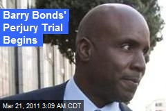 Barry Bonds Starts Trial in Doping Case