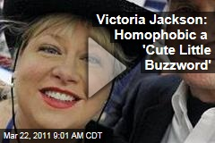 Victoria Jackson Defends Rant Against 'Sickening' Gay Glee Kiss, and Continues Slamming Gays, Muslims (VIDEO)