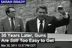 Sarah Brady: 30 Years After Reagan Shooting, It's Still Too Easy to Get Guns