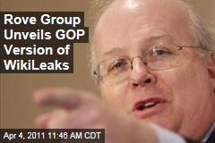 Karl Rove Group's Answer to WikiLeaks, Wikicountability, Targets President Obama