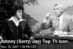 Johnny (Sorry, Jay) Top TV Icon