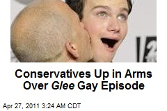 Conservatives Go Ape Over Glee Gay Episode