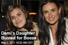 Demi Moore and Bruce Willis's Daughter Tallulah Belle Willis Arrested Over Alcohol