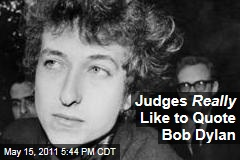 Bob Dylan Is US Courts' Most-Quoted Musician