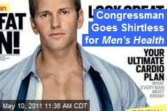 Congressman Goes Shirtless for Men's Health