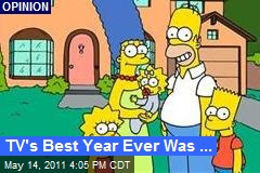 TV's Best Year Ever Was ...