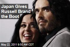 Russel Brand Deported: Katy Perry Says Japan Gives Husband the Boot
