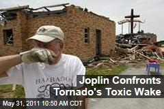 Joplin Residents Confront Toxic Refuse Left by Tornado