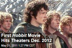'Hobbit' Movies Get Release Dates: December 2012 and 2013