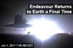 Space Shuttle Endeavour Returns to Earth