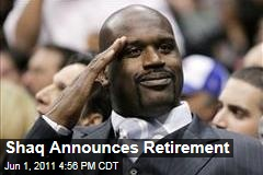 Shaq Retires | Shaquille O'Neal Announces Retirement in Online Video