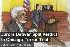 Jurors Deliver Split Verdict in Chicago Terror Trial