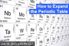 How to Expand the Periodic Table By Making a New Element