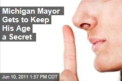 Warren Michigan Mayor Jim Fouts Can Keep Age Private