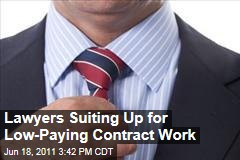 Lawyers Working 'Contract' Positions to Make Ends Meet