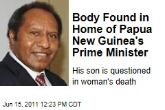 Papua New Guinea Prime Minister Scandal: Woman's Body Found in Sam Abal's Home