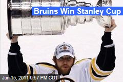 Boston Bruins Win Stanley Cup With 4-0 Victory Over Vancouver Canucks