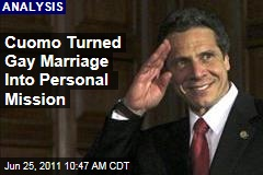 New York Governor Andrew Cuomo Turned Gay Marriage Into a Personal Mission