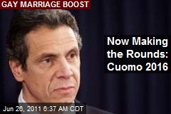 Now Making the Rounds: Cuomo 2016