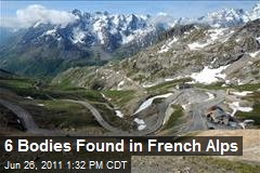 6 Bodies Found in French Alps