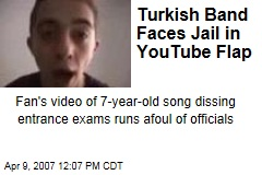 Turkish Band Faces Jail in YouTube Flap