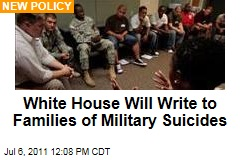 White House Reverses Policy, Will Write Letters of Condolence to Families of Military Suicides