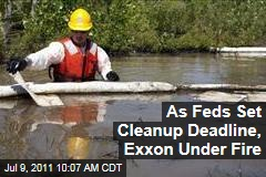 Exxon Mobil Oil Spill: Gov. Brian Schweitzer Accuses Company of Lying as Feds Set Cleanup Deadline