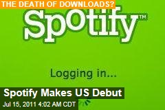 Spotify Digital Music Service Makes US Debut