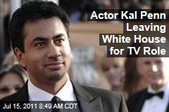 Kal Penn Leaving White House Role for 'How I Met Your Mother'