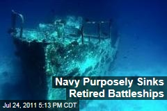 Navy Battleships Sunk to Provide Artificial Reef Habitats: Could Be Harming Environment, Scientists Worry