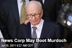 News Corp May Boot Rupert Murdoch; Guardian Speculates Daughter Elisabeth Could Replace Him
