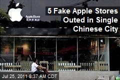 5 Fake Apple Stores Outed in Single Chinese City
