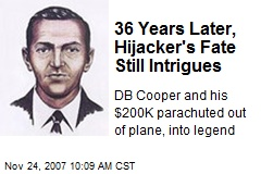 36 Years Later, Hijacker's Fate Still Intrigues