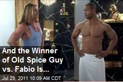 And the Winner of Old Spice Guy vs. Fabio Is...